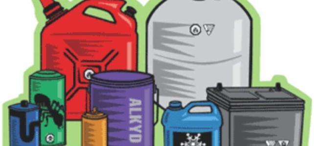 Jarní svoz nebezpečného odpadu