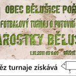 Fotbalový turnaj o putovní pohár starostky obce Bělušice