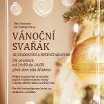 Pozvánka na Vánoční svařák