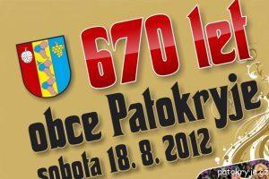 670 let obce Patokryje