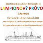 Lampionový průvod 2013