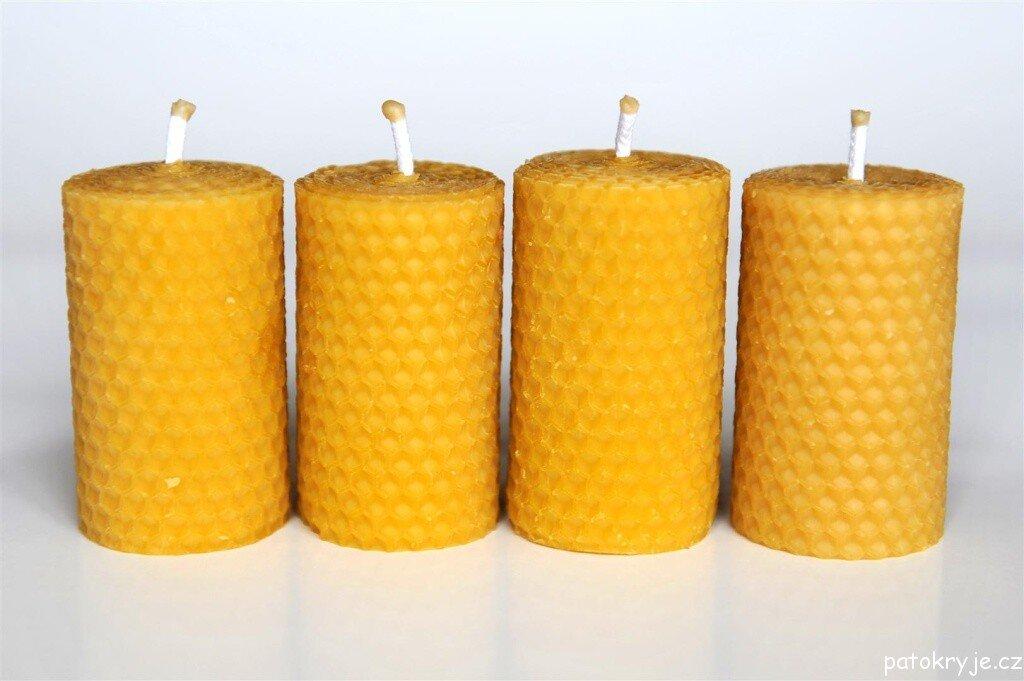 Voskové svíčky