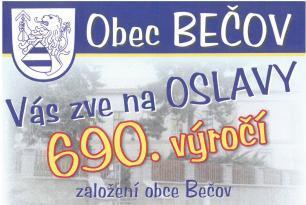 Pozvánka do obce Bečov