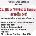 Pozvánka do obce Bělušice