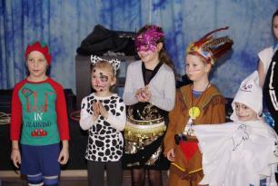 Fotky z dětského karnevalu
