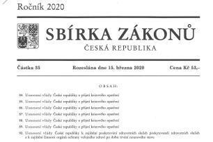 Usnesení vlády České republiky o přijetí krizových opatření ze dne 23. března 2020