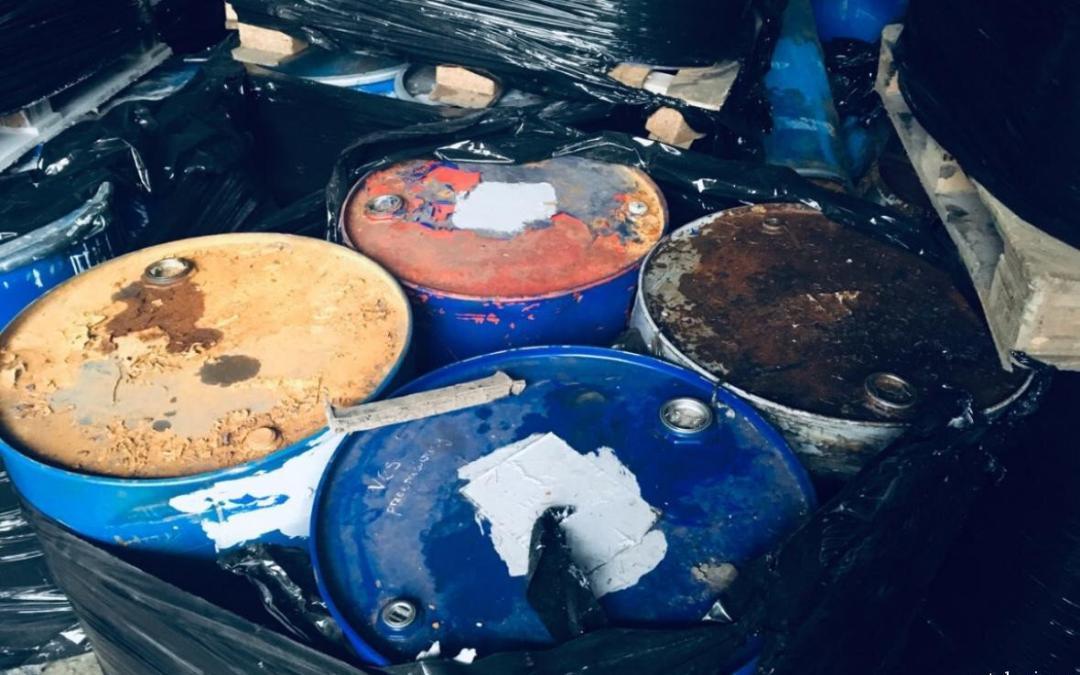 Sběr nebezpečného odpadu